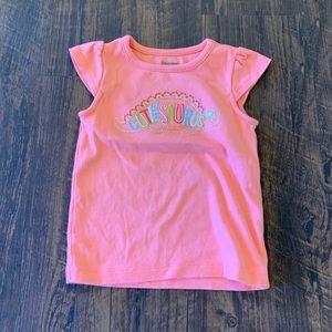 "Gymboree | ""Cutie""-saurus Dinosaur Pink T 🦕💗"